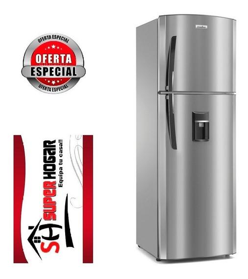 Refrigeradora Mabe 250 Litros Dispensador No Frost Inox L