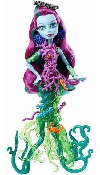 Boneca Monster High Posea Reef Assustadora Barreira De Coral
