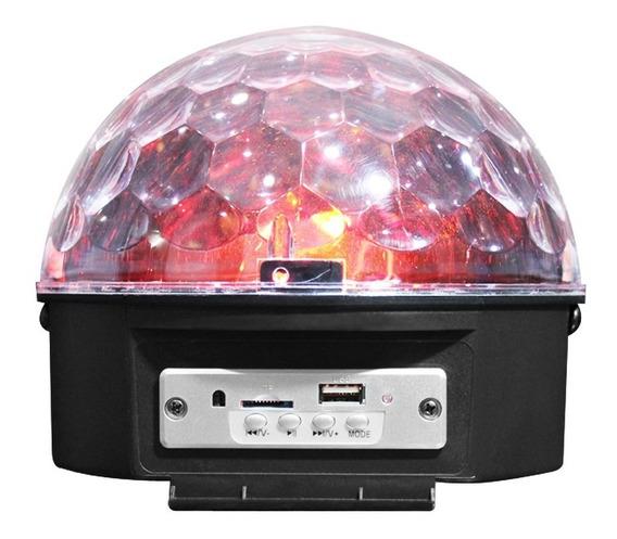 Luz Led Audioritmica Preprod. Mp3 Bluetooth Nightsun Spg002n
