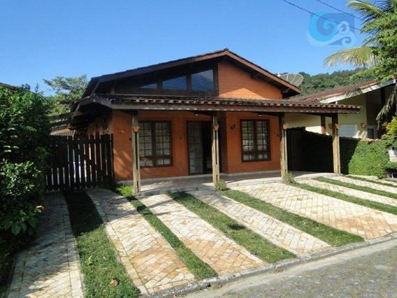 Casa À Venda - Condomínio Jardim Albamar - Praia De Pernambuco, Guarujá - Ca1643