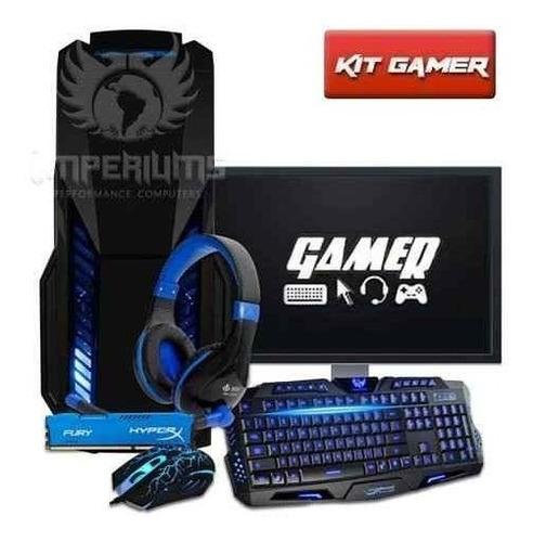 Cpu Gamer + Monitor19 Amd A4 7300/ 500gb/ 16gb/ Hd 8470d