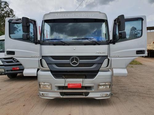 Mercedes-benz Axor 2544 6x2 Ano 2014 Cavalo Mecânico Trucado