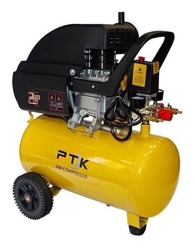 Compresor De Aire Ptk 2 Hp, 24 Litros 110v.