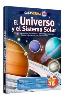 Libro Universo Y Sistema Solar · Guía Visual 3 D + Anteojos