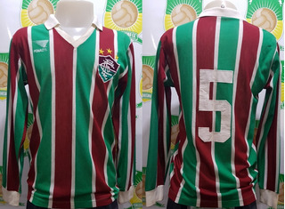 Camisa Futebol Fluminense Penalty # 5 Anos 80 Manga Longa