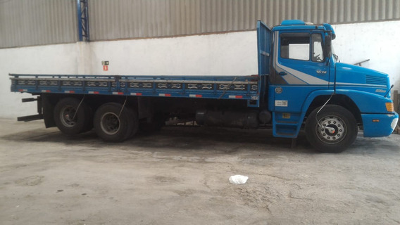 Mbenz 1618 Truck Ano 90 Com Carroceria De Ferro Porta Cntr