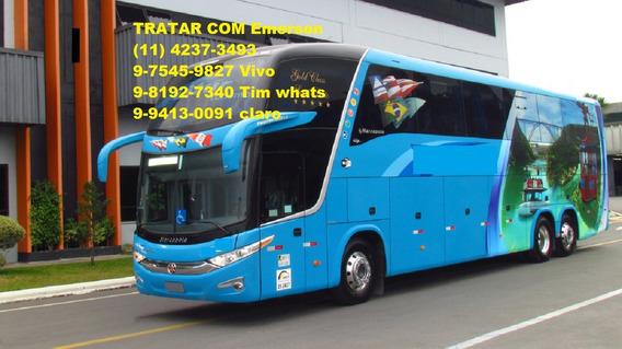 Ônibus Rodoviário Marcopolo Scania G7 Ld 1600 N`mercedes Ld