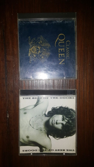 Queen Classic + Tbe Doors The Best Of. Lote 3 Cd Mb Estado!