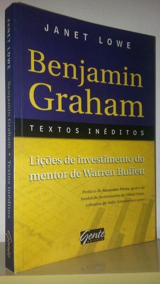 Benjamin Graham Textos Inéditos - Janet Lowe