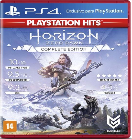 Jogo Game Horizon Zero Dawn Hits - Ps4 | *frete Grátis*