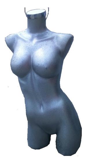 Maniqui 3/4 Dama Exhibidor Sexi Fibra Vidrio Adulto