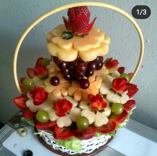 Imagen 1 de 10 de Arreglos De Frutas/ramos Frutales Para Toda Ocasión
