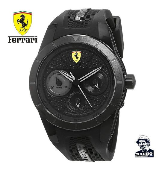 Reloj Ferrari Redrev T 0830259 En Stock Original Nuevo Caja