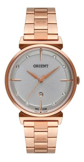 Relógio Orient Feminino Frss1051 S1rx Rose Analogico Oferta