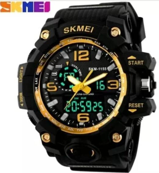 Relógios Pulso Skemei Resistente A Água Silicone Modelo 1155