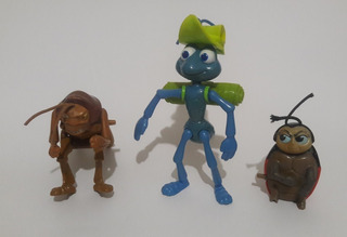 Figuras Bichos Set 3 Personajes