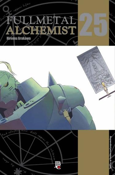 Fullmetal Alchemist 25 Edição De Luxo! Mangá Jbc! Lacrado!
