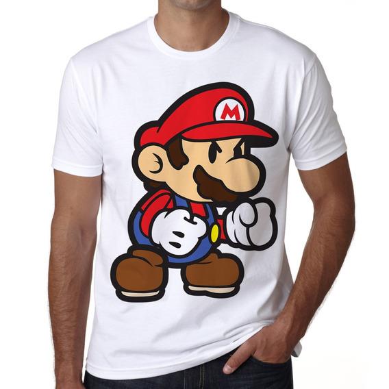 Playera Super Mario Bros Video Juegos