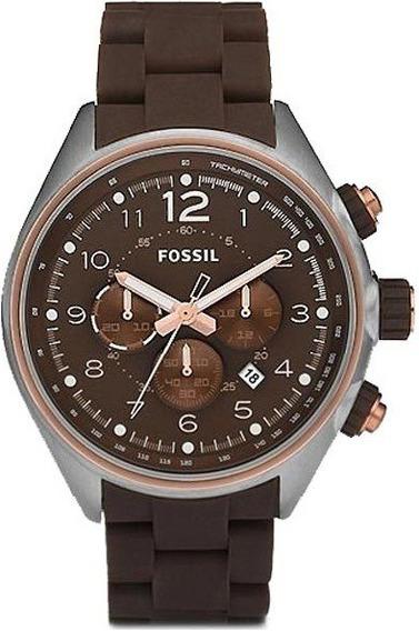 Raro Relógio Fossil Ch2727 10atm Importado Aceito Trocas