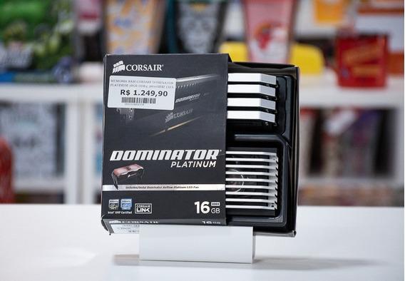 Memoria Corsair 16gb 3600mhz Ddr4 Dominator Platinum 4x 4gb