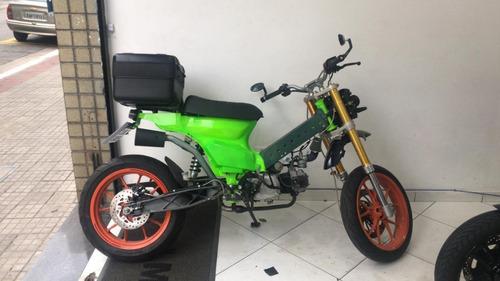 Honda Dream 110 Customizada Única No Brasil