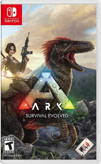 Ark Survival Evolved - Switch - Midia Fisica!