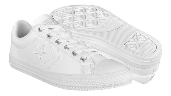 Tenis Unisex Converse 651827c Simipiel Blanco
