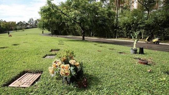 Jazigo Cemitério Morumbi (área Nobre/perto Entrada)
