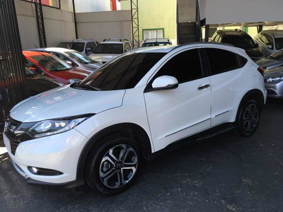 Honda Hr-v 1.8 Touring Flex 2018 Branco Perola Na Garantia