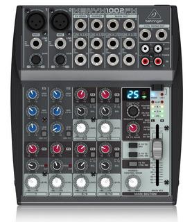 Consola De Sonido Mixer Behringer Efectos Xenyx 1002 Fx