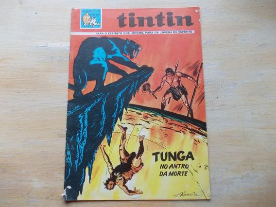 Revista Tintin Nº 19 - Tunga No Antro Da Morte - 1968