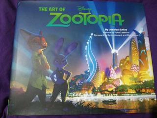 Art Book Zootopia
