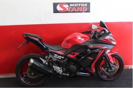 Kawasaki Ninja 300 2015 Vermelha Vermelho