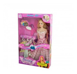 Kole Dreamy Fashion Doll Con Vestidos - Accesorios