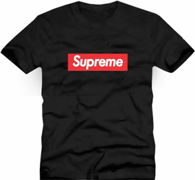 Camisetas Supreme 100% Algodão