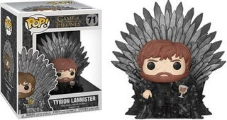 Funko Pop! Tv Game Of Thrones - Tyrion Lannister Iron Throne
