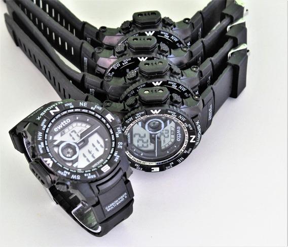Kit 5 Relógio Masculino Militar ,prova De Água . 27,00 Cada
