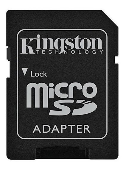 Adaptador Cartão De Memória Sd - Micro Sd Kingston Original