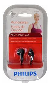 Fone De Ouvido Intra-auricular Philips She1360/55