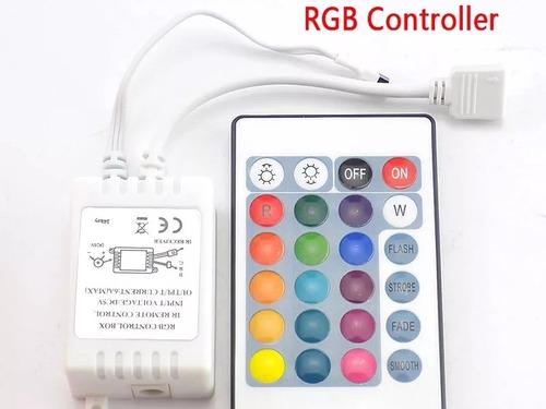 Secuencial Rgb Control Cinta Led Modulo Tiras Luz 12v Supli