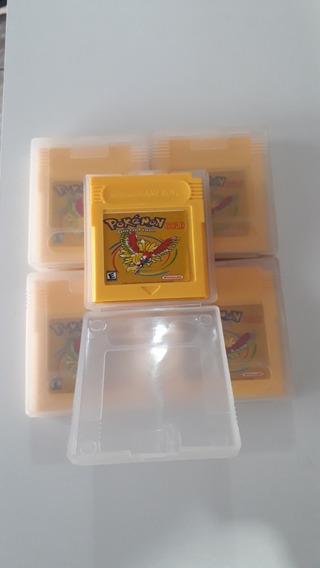 Jogo Paralelo Pokemon Gold Nintendo Game Boy Color!