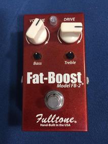 Pedal De Booster Fulltone Fat Boost