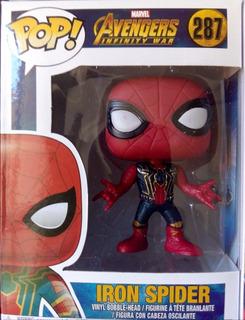 Funko Pop 287 Iron Spider Avengers En Parque Chacabuco