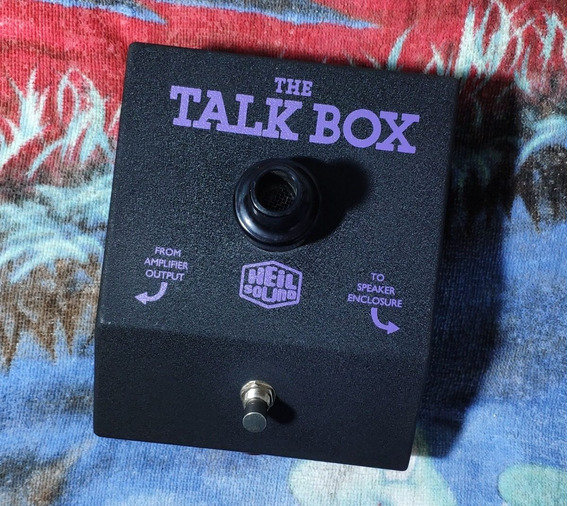 Dunlop Ht-1 Heil Sound The Talk Box - Willaudio
