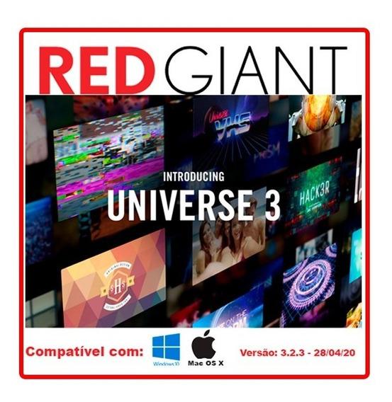 Red Giant Universe Atualizado + Licença Original