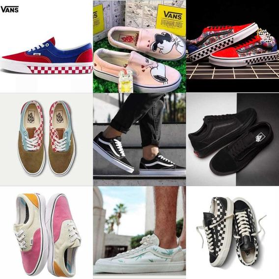 *~*zapatos Vans Old Skool Originales Authentic Era*~*