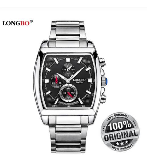 Relógio Masculino Longbo Original Top Estiloso