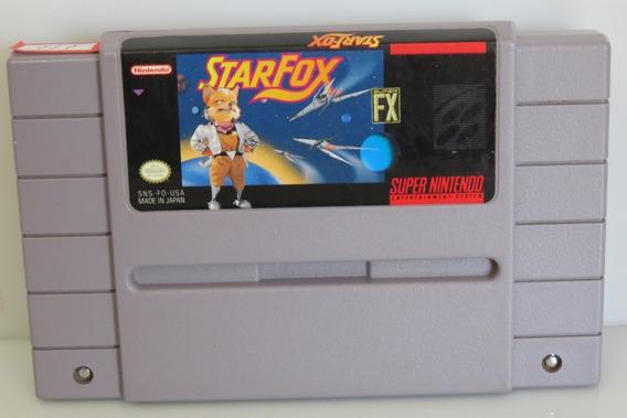 153 Star Fox Snes Original Super Nintendo
