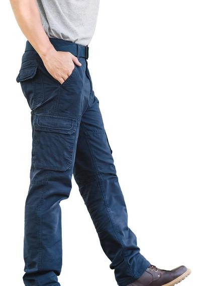 Pantalón Cargo Deluxe Premium 100% Algodón