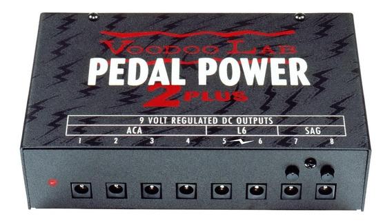 Fonte Para Pedais Voodoo Lab Power 2 Plus C/ Nf-e 110v